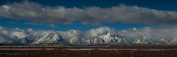 Teton Range - Willow Flats Overlook