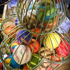 Yarn ball cage