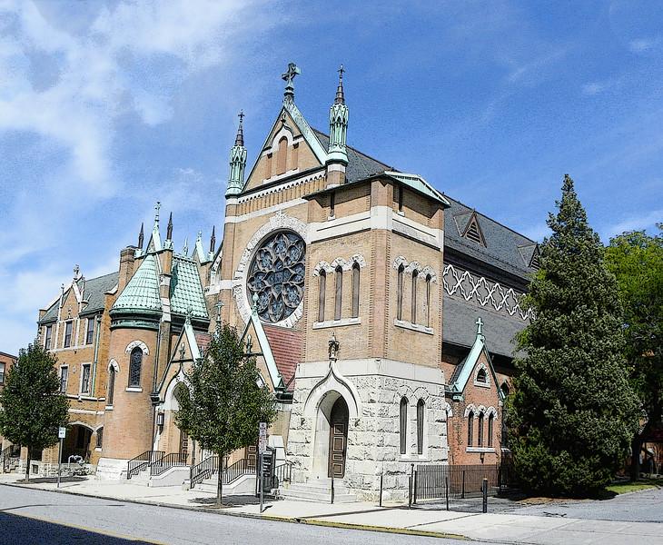 St. Patrick's Church, side (2012)