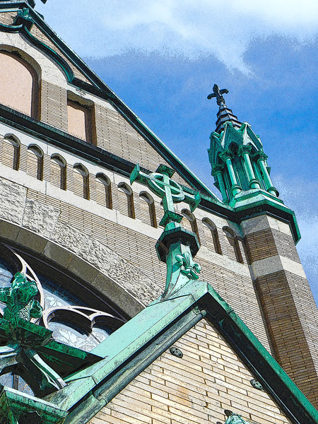 St. Patrick's Church, stonework (2012)