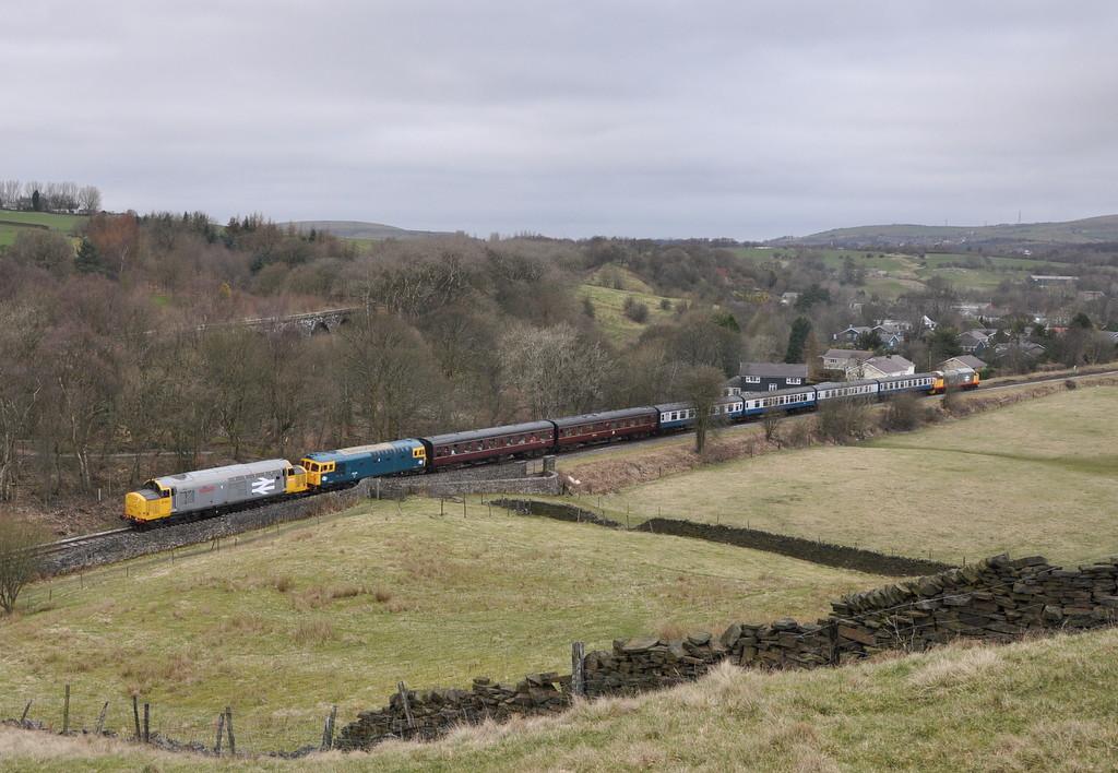 37901, 33109 and 37518, Irwell Vale.