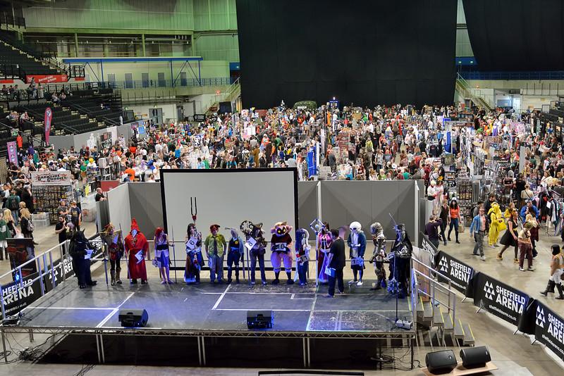 Main stage & hall