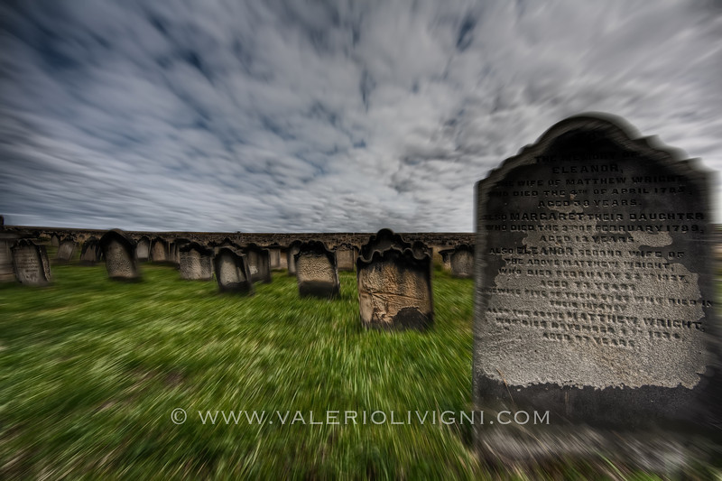Whitby (UK) - St. Mary's Church Cemetery