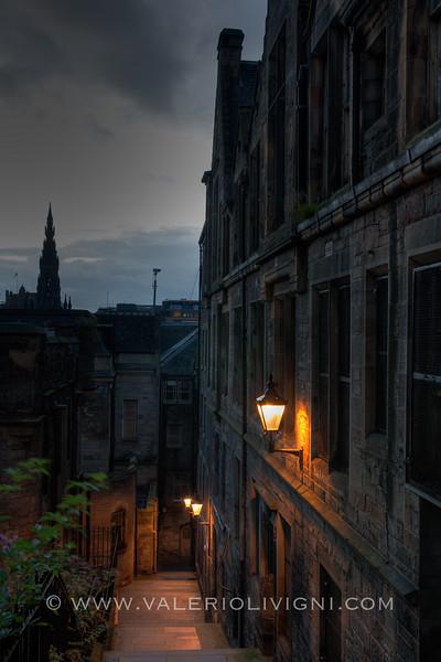 Edinburgh (UK) - View from High Street