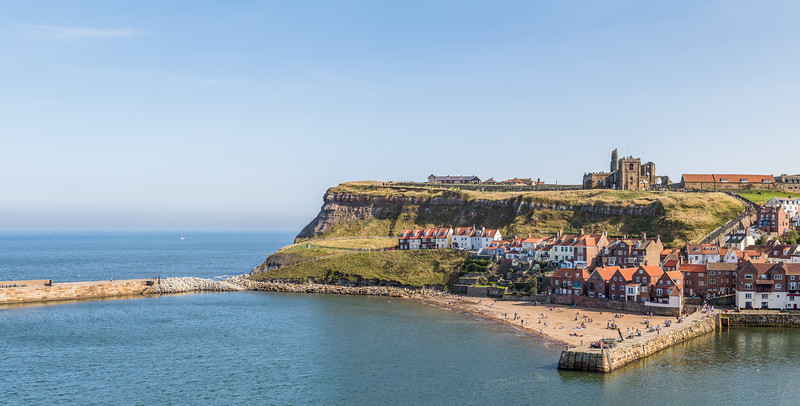 East cliff of Whitby