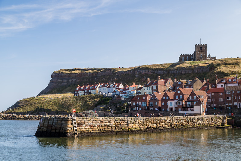 Harbour pier at Whitby