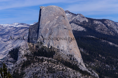 Close-up of Half Dome from Glacier Point