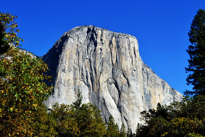 El Capitan in the Fall in Yosemite National Park in California