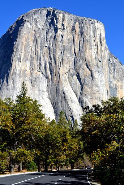 El Capitan in Yosemite Natioinal Park in California