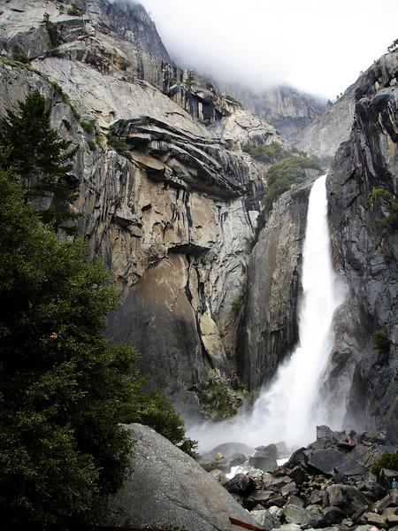 Yosemite on a Misty Day