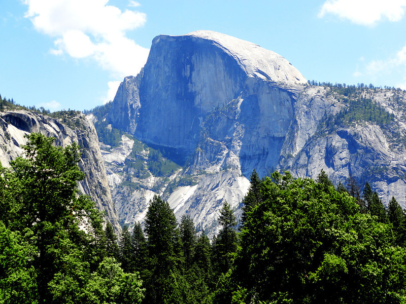 Half Dome in Yosemite National Park in California 2