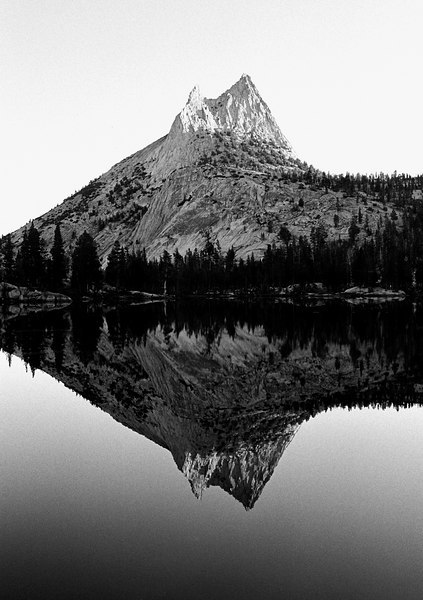 Cathedral Lake and Peak, Yosemite, 1999;  *All images and gift items print without the watermark*