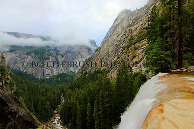 Vernal Falls, Yosemite National Park.