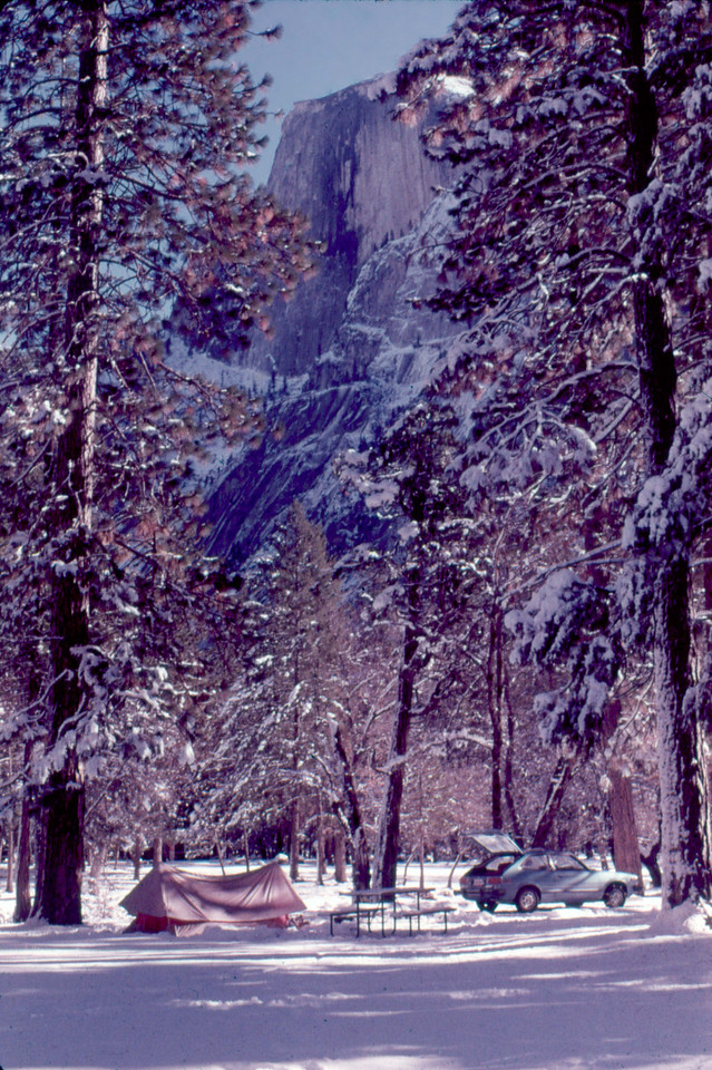 Yosemite January 1978