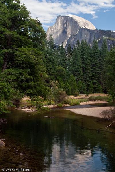 Half Dome from Sentinel Bridge - Yosemite National Park, CA, USA