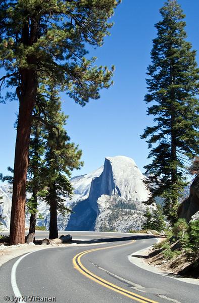 Half Dome from Glacier Point II - Yosemite National Park, CA, USA