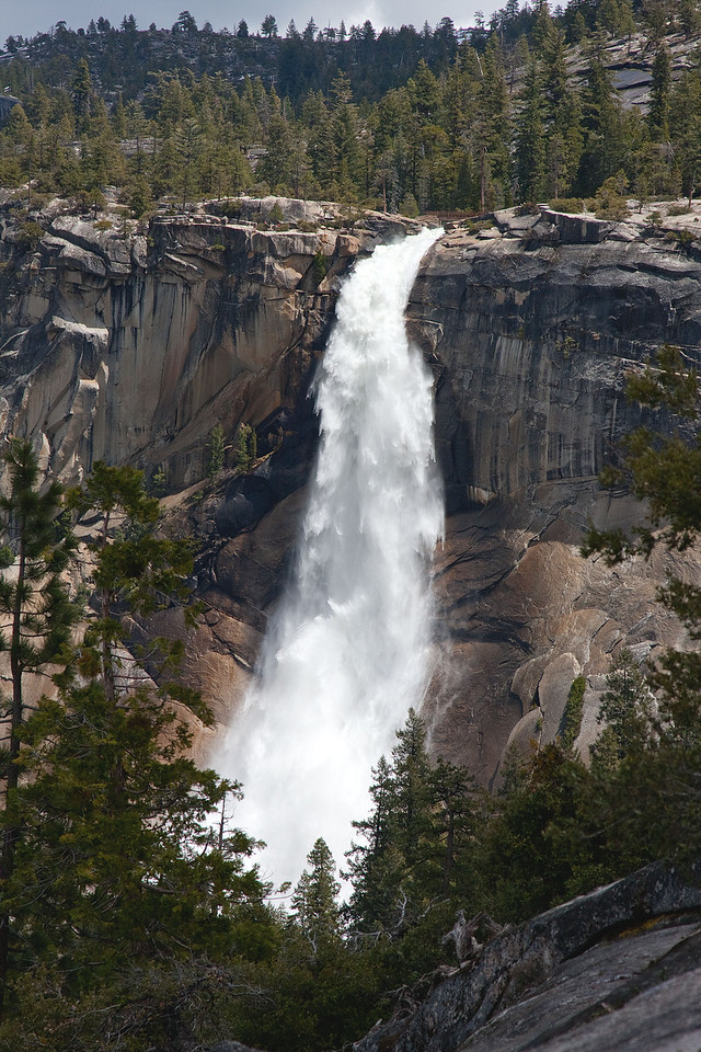 Nevada Falls in May