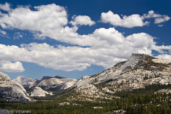 Tenaya Lake from Olmstead Point - Yosemite National Park, CA, USA