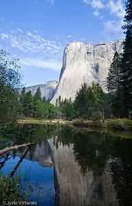 El Capitan Reflection on Merced River II - Yosemite National Park, CA, USA