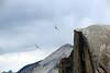 4 BIRDS-EYE VIEW OF HALF DOME