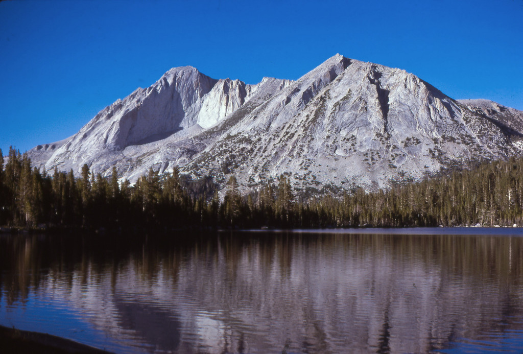 Mt. Connes from lower Young Lake