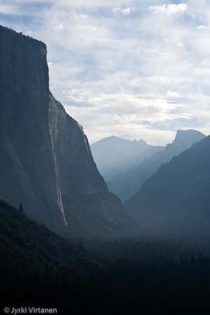 Misty Sunrise In Yosemite Valley - Yosemite National Park, CA, USA