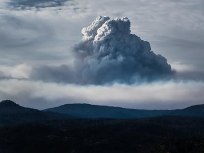 Pyro Cumulus, Rim Fire