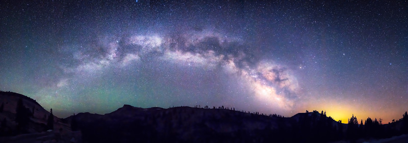Milky Way Over The High Sierra