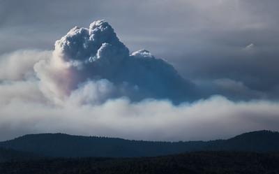Pyro-cumulus - Rim Fire II