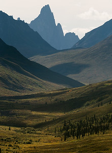 Tombstone Mountains off the Dempster Highway, Yukon, Canada.
