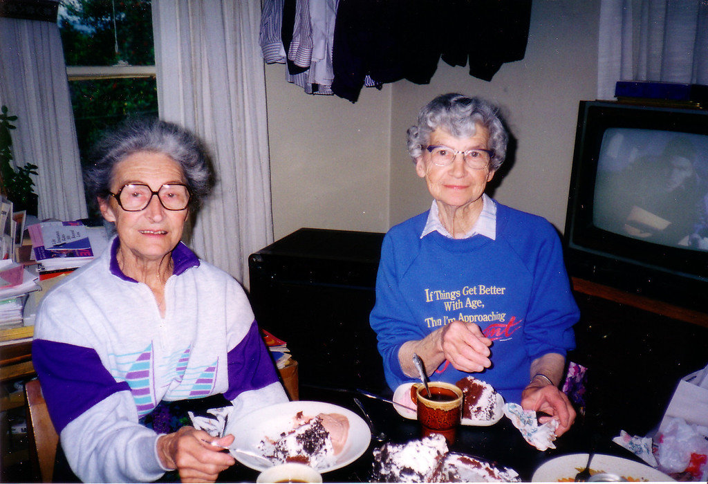 Mom & Enid Cake