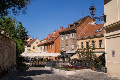 Street, Zagreb, Croatia