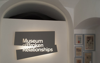 Museum of Broken Relationships, Zagreb, Croatia