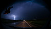 Lightning near Newell, South Dakota