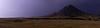 Lightning near Bear Butte, South Dakota