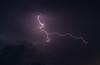 Lightning near Albion, Montana
