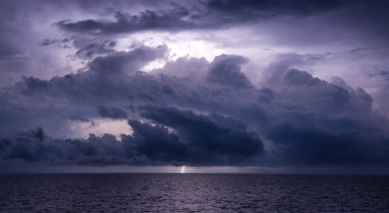 Lightning in Key West, Florida