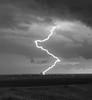 Lightning in Presho, South Dakota