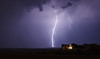 LIghtning near Rapid City, South Dakota