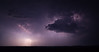 Lightning near Scenic, South Dakota