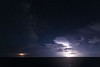 Thunderstorm in the Adriatic Sea
