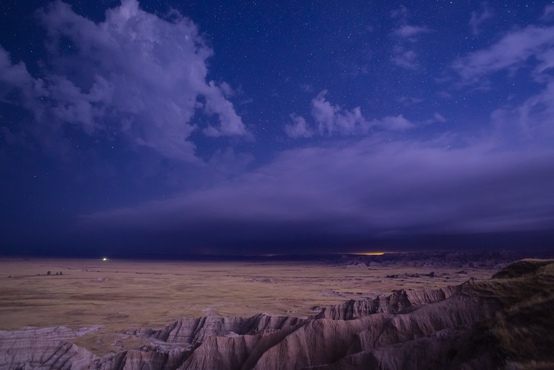 Lighting in the Badlands