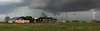 Storm near Cottonwood, South Dakota