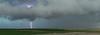 Lightning near Draper, South Dakota
