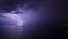 Thunderstorm near Rijeka, Croatia