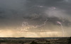 Lightning near Guernsey, Wyoming