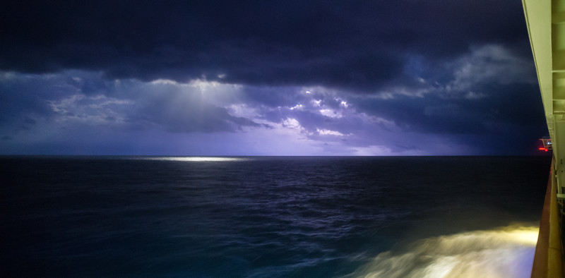 Lightning in the Gulf of Mexico