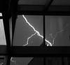 Thunderstorm in Manhatten, New York