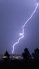 Lightning in Rapid City, South Dakota