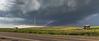 Severe storm near Broadus, Montana
